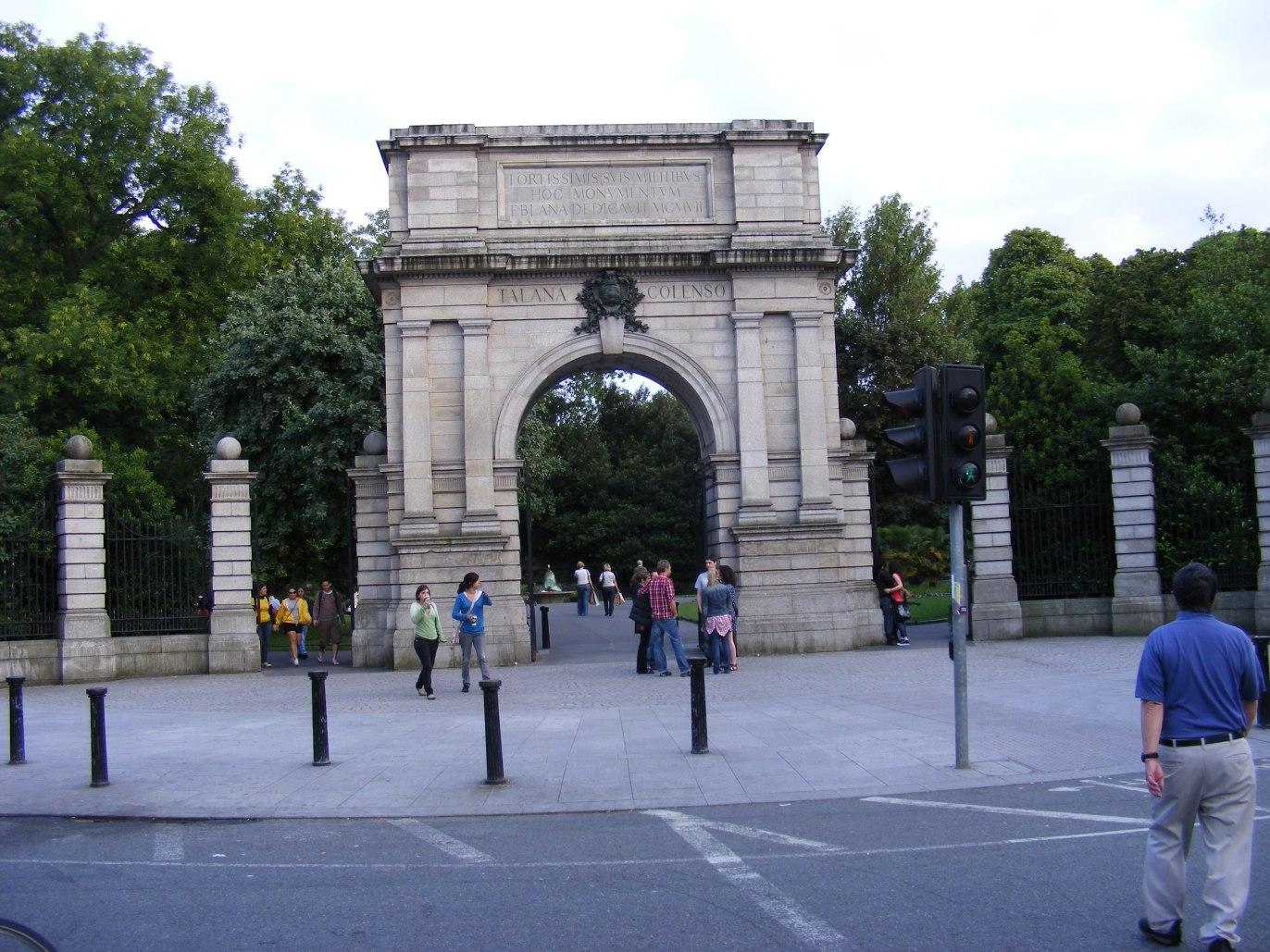 Gate of St Stephe's Green